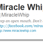 Miracle Whip Oscar Tweets