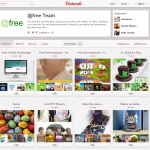 New Pinterest Profile Page