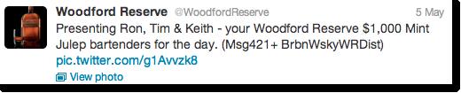WoodfordReserveTweets
